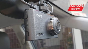 รีวิวSCENEDriveguard400 และ 800กล้องติดหน้ารถรุ่นใหม่ล่าสุดให้ภาพคมชัดราคาไม่แพง