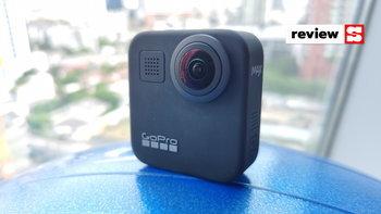 [รีวิว] GoPro Max กล้องอเนกประสงค์ ถ่ายภาพได้รอบทิศ และไมโครโฟนดีมากมาย