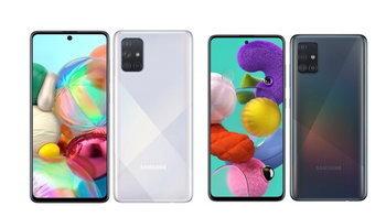 เปิดตัวSamsung Galaxy A51และGalaxy A71มือถือ4กล้องพร้อมจอทรงเดียวกับNote 10