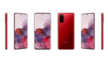 เผยสีใหม่ของSamsung Galaxy S20ที่มอบความสดใสทั้งสีแดงและสีน้ำเงิน แต่ขายบางประเทศ