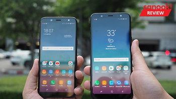 รีวิว Samsung Galaxy A6 / Samsung Galaxy A6+ มือถือจอเต็ม อัดแน่นเรื่องกล้อง ราคาเอื้อมถึง