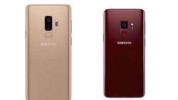 Samsung Galaxy S9 เพิ่มสีใหม่ Sunrise Gold และ Burgundy Red เริ่มขายในต่างประเทศ