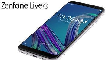 เปิดตัว Asus ZenFone Live L1 น้องเล็กรุ่นแรกบน Android Go ครบครันด้วยจอใหญ่ดีไซน์ 18:9