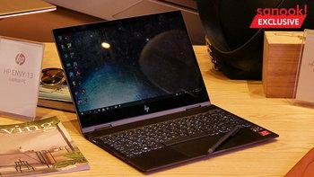 """[Hands On] """"HP Pavilion X360"""" และ """"HP Envy X360"""" คอมพิวเตอร์พับได้บางแต่สเปคแรง"""