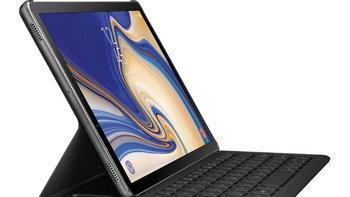 """เผยภาพ """"Samsung Galaxy Tab S4"""" รุ่นใหม่ ขอบจอบางขึ้น พร้อมปากกาและคีย์บอร์ด"""