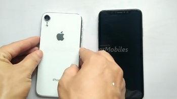 """ชมภาพและคลิปวิดีโอคาดว่าเป็นเครื่องจริงของ """"iPhone"""" 6.1 นิ้ว และ iPhone 6.5 นิ้วที่จะขายในปีนี้"""