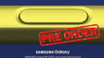 """3 ค่ายดังเตรียมเปิด Pre-Order สมาร์ทโฟน """"Samsung Galaxy Note 9"""" ในไทย 10 สิงหาคมนี้"""