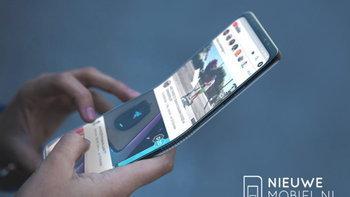 สวยไม่เบา Concept ของ Samsung Galaxy F หรือ Samsung Galaxy X พับเก็บได้