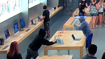 4 โจรแสบขโมย iPhone จำนวน 20 เครื่องจาก Apple Store ที่เต็มไปด้วยลูกค้า ในแคลิฟอร์เนีย