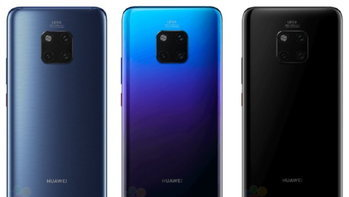 หลุด! ภาพโฆษณา Huawei Mate 20 และ Mate 20X พร้อมปากกา Stylus