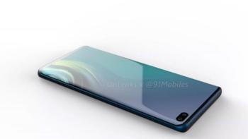 เผยภาพ Samsung Galaxy S10 กล้องหน้าคู่เจาะรู และกล้องหลัง 4 ตัว ขอบจอบางมาก!