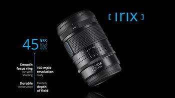 เปิดตัว Irix 45mm F/1.4 Dragonfly สำหรับกล้องมีเดียมฟอร์แมต Fujifilm GFX