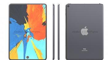 ชมภาพเรนเดอร์ iPad mini 6 : เจาะรูติดตั้งกล้องหน้า และเซนเซอร์สแกนลายนิ้วมือ