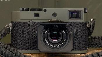 """วางขายแล้ว Leica M10-P """"Reporter"""" limited edition หุ้มด้วย Kevlar กันกระสุนได้!"""