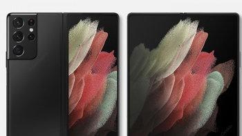 เผยภาพ Render ชอง Samsung Galaxy Z Fold3 ทั้งหน้าและหลัง มันเหมือน S21 ultra ที่ขยายร่างได้