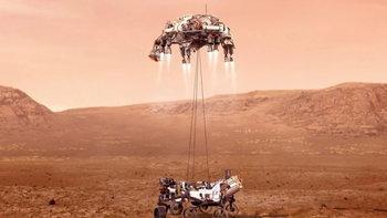นาซ่าส่งยานสำรวจ 'เพอร์ซะเวอแรนซ์' ลงจอดพื้นผิวดาวอังคารสำเร็จ