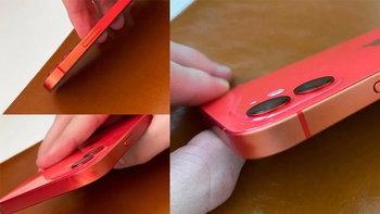 เอาแล้วไง! iPhone 12 รุ่นขอบอลูมิเนียมบางเครื่องอาจมีปัญหาสีตก