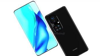 """ชมภาพเรนเดอร์ """"Huawei P50 Pro+"""" ล่าสุด  ดีไซน์เรียบหรู พร้อมกล้องหลัง 5 ตัว"""