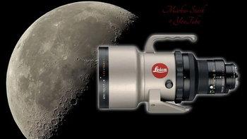 อย่างคม ภาพวิดีโอดวงจันทร์ที่ถ่ายด้วยเลนส์ Leica APO-Telyt-R 400mm f/2.8