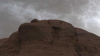 ชมภาพจากยาน Curiosity โชว์ภาพสภาพท้องฟ้าบนดาวอังคาร
