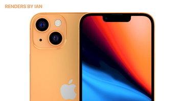 ชมภาพ Render ของ iPhone 13 รุ่นใหม่ที่จะมีสีส้มให้เลือกสวยงามมาก