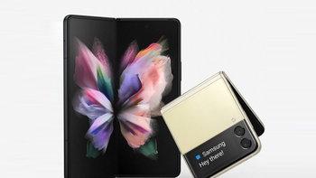 หลุดภาพเรนเดอร์อย่างเป็นทางการของ Samsung Galaxy Z Fold 3 และ Z Flip 3