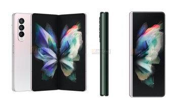 เผยภาพ Samsung Galaxy Z Fold3 มาพร้อมกันทั้งหมด 3 สีที่ดูเข้มและดูดี