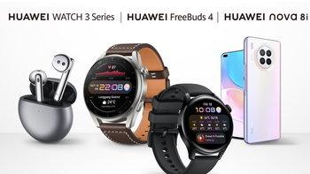 เปิดราคา Huawei Watch 3, Huawei FreeBuds 3 และ Huawei Nova 8i รุ่นใหม่ล่าสุด
