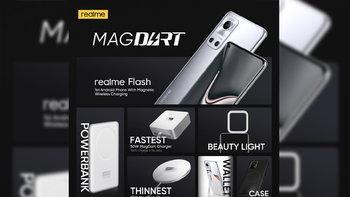 realme เปิดตัว MagDart ที่ชาร์จไร้สายด้วยแม่เหล็กที่เร็วที่สุดในโลก