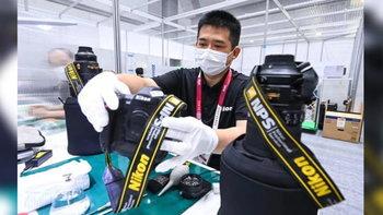 พาชมคลังแสงศูนย์บริการ Nikon ในงานโตเกียวโอลิมปิก 2020