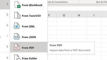 ข่าวดีMicrosoft Excelรองรับการนำเข้าFile PDFไปแสดงผลเป็นในExcelแล้ว