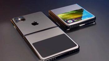 ลือ iPhone รุ่นจอพับได้ของ Apple จะเป็นจอแบบบานพับ ไม่ใช่การพับได้ของจอ