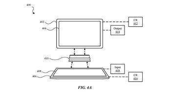 เผยภาพการจดสิทธิบัตรอุปกรณ์เสริมที่เชื่อมต่อiPad 2เครื่องให่ทำงานเหมือนกับNotebook