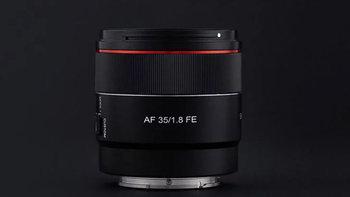 Samyang เปิดตัวเลนส์มุมกว้างราคาประหยัด 35mm f/1.8 FE auto focus สำหรับกล้อง Sony E-mount