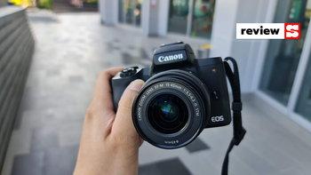 รีวิวCanon EOS M50 Mark IIกล้องMirrorlessตอบโจทย์ในเรื่องการถ่ายวิดีโอและภาพนิ่งงบ2หมื่น