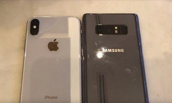 เปรียบเทียบกล้อง Samsung Galaxy Note 8 VS iPhone X จากการใช้งานจริงใครจะดีกว่ากัน