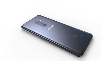 เผยภาพ Render ของ Samsung Galaxy S9+ จะได้กล้องหลังคู่ และหน้าจอ 6.1 นิ้ว