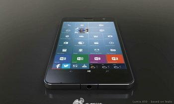 หลุดภาพเรนเดอร์ Microsoft Lumia 850 กับดีไซน์แปลกใหม่ ย้ายพอร์ต microUSB ไปไว้ด้านบน