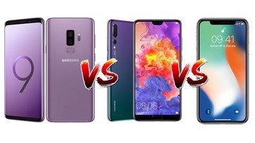 เปรียบเทียบสเปค Huawei P20 Pro VS iPhone X และ Samsung Galaxy S9+ ศึกเรือธงพร้อมชน