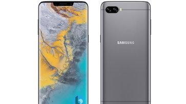 เมื่อ Samsung Galaxy S10 จะมาพร้อมรอยบากเครื่องแรก