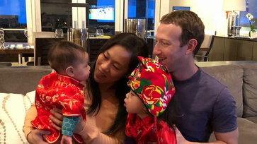 อัปเดตภาพน่ารักของครอบครัว Zuckerberg ผู้ก่อตั้ง Facebook