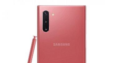 ชมกันชัดๆภาพRenderของSamsung Galaxy Note 10สีชมพูหวานสุดๆ