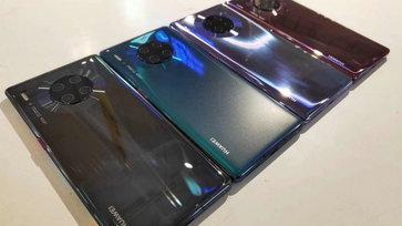 เผยภาพ Huawei Mate 30 series ทุกมุมก่อนเปิดตัววันที่ 19 กันยายนนี้