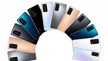 หลุดภาพเรนเดอร์ล่าสุด Huawei P40 และ P40 Pro โชว์หน้าจอไร้ขอบสุดงามชัดเจน