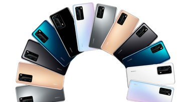 หลุดภาพโปรโมต Huawei P40 เผยดีไซน์ตัวเครื่อง และสีต่าง ๆ ชัดเจน
