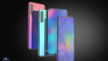 งามขนาด! คอนเซ็ปต์ดีไซน์ Huawei P30 Series จัดเต็มกล้อง 4 เลนส์