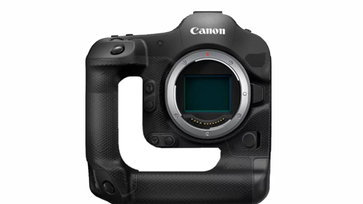 Canon จดสิทธิบัตรกล้องมิเรอร์เลสดีไซน์แปลก ที่เจาะรูตรงกลางเป็นทรงตัว L จับถนัดขึ้น