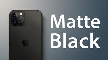 ข่าวดี!!! iPhone 13 อาจมาพร้อมสีใหม่สีดำด้าน Matte Black