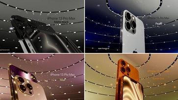ตัวอย่างภาพเรนเดอร์ iPhone 12s หรืออีกชื่อ iPhone 13 Pro สีใหม่