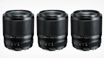 เปิดตัว Tokina 23mm, 33mm และ 56mm f/1.4 เลนส์ AF APS-C E-Mount